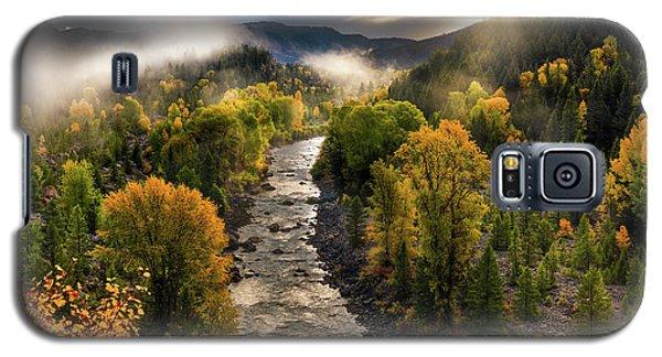 Gros Ventre River Light Galaxy S5 Case