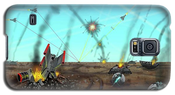Ground Battle Galaxy S5 Case