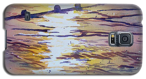 Groynes And Glare Galaxy S5 Case