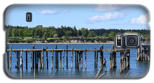 Guemes Island And Old Pier Galaxy S5 Case