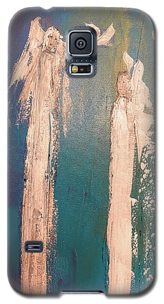 Guiding Angels...he Has Risen Galaxy S5 Case