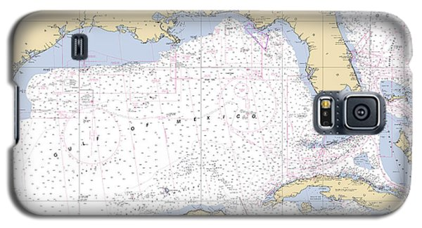 Gulf Of Mexico, Noaa Chart 411 Galaxy S5 Case