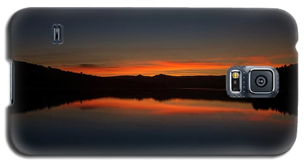 Sunset In The Reservoir Galaxy S5 Case