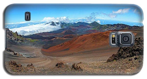 Haleakala Crater Panoramic Galaxy S5 Case