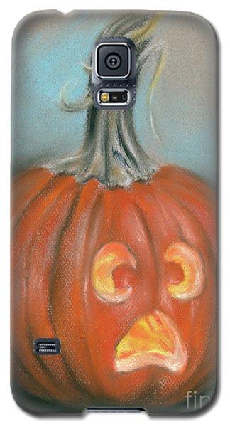 Halloween Jack O Lantern Pumpkin Galaxy S5 Case