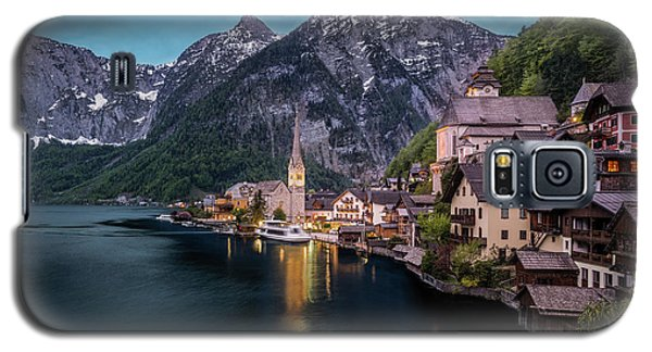 Hallstatt Village At Dusk, Austria Galaxy S5 Case