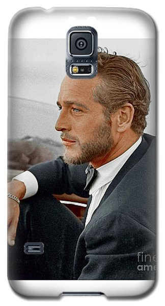 Hand Colored Picture Of Paul Newman Galaxy S5 Case