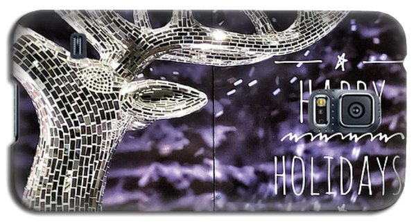 Happy Holiday Sparkle Galaxy S5 Case