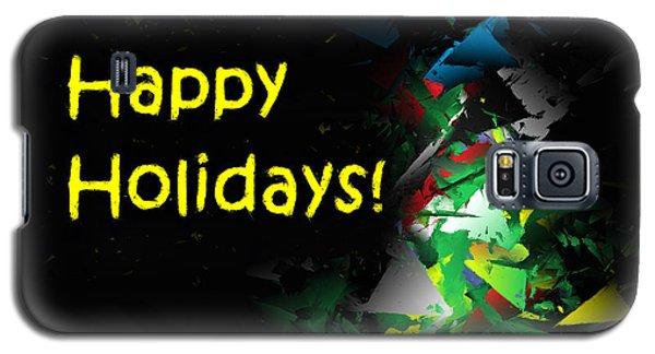 Happy Holidays - 2018-7 Galaxy S5 Case
