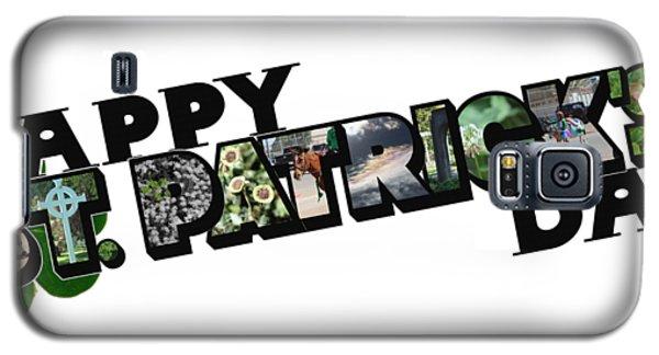 Happy St. Patrick's Day Big Letter Galaxy S5 Case