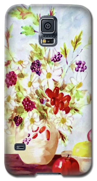 Harvest Time-still Life Painting By V.kelly Galaxy S5 Case