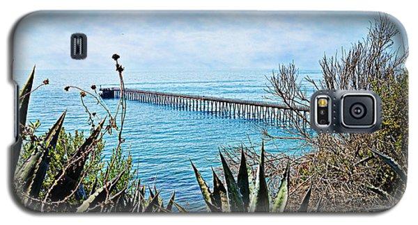 Haskell Beach Pier Galaxy S5 Case
