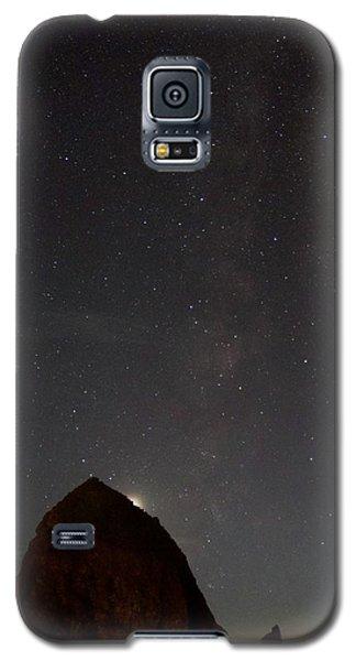 Haystack Night Under The Stars Galaxy S5 Case