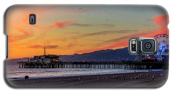 Heading Home At Dusk Galaxy S5 Case