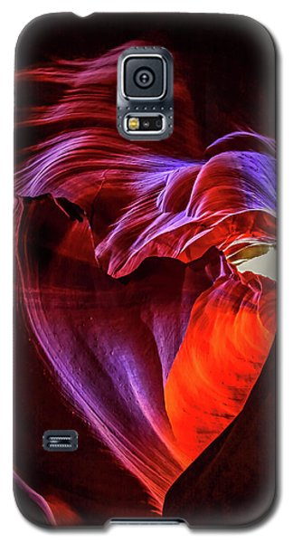 Heart Of Antelope Canyon Galaxy S5 Case