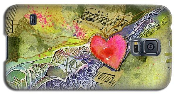 Heart Strings Galaxy S5 Case