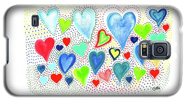 Hearts 1002 Galaxy S5 Case
