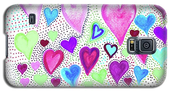 Hearts 1004 Galaxy S5 Case