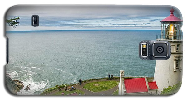 Heceta Head Lighthouse And The Pacific Galaxy S5 Case
