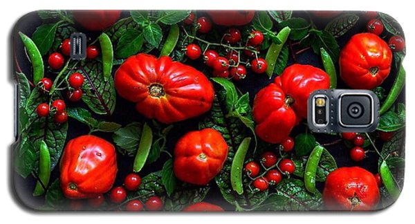 Heirloom Tomatoes And Peas Galaxy S5 Case