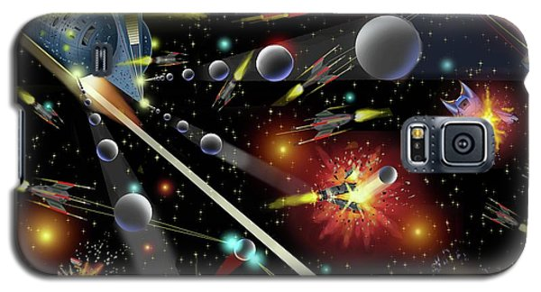 Hell In Space Galaxy S5 Case