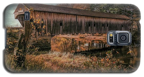 Hemlock Covered Bridge Fryeburg,maine. Galaxy S5 Case