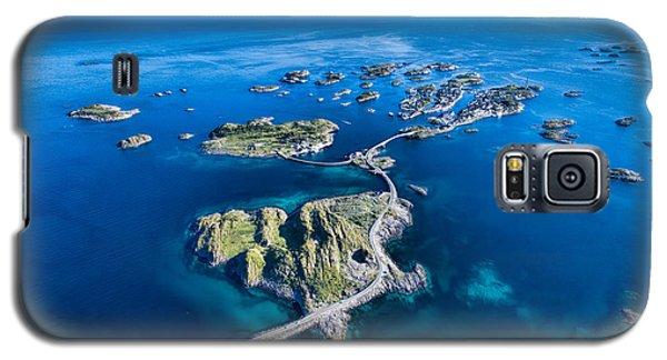Town Galaxy S5 Case - Henningsvaer, Fishing Port On Lofoten by Harvepino