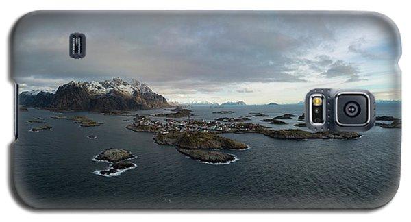 Henningsvaer Lofoten Galaxy S5 Case