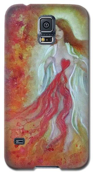 Her Heart Bleeds Galaxy S5 Case