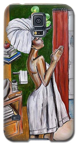 Galaxy S5 Case - Her Prayer by Artist RiA