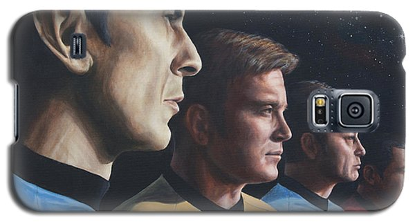 Heroes Of The Final Frontier Galaxy S5 Case