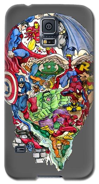 Superhero Galaxy S5 Case - Heroic Mind by John Ashton Golden