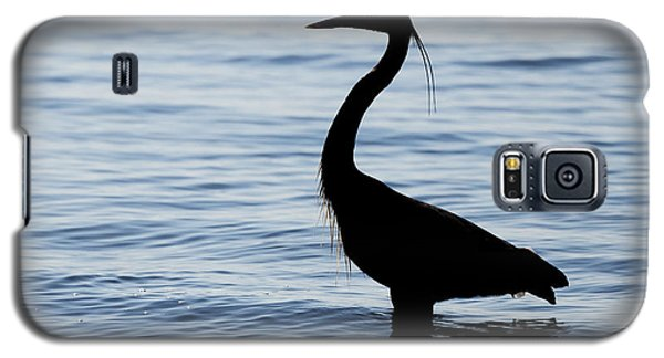 Heron In Silhouette Galaxy S5 Case
