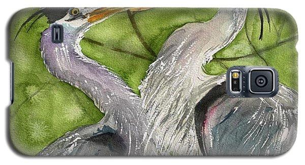 Heron Love Galaxy S5 Case