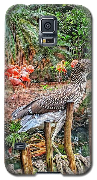 Heron On Guard Galaxy S5 Case