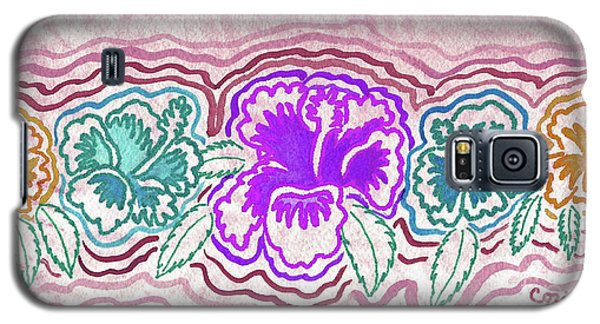 Galaxy S5 Case featuring the photograph Hibiscus 1003 by Corinne Carroll