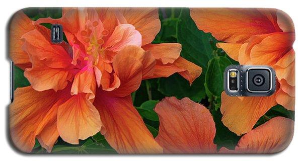 Hibiscus Tripcus Orangus Galaxy S5 Case