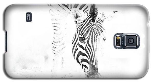 High Key Zebra Drinking Galaxy S5 Case