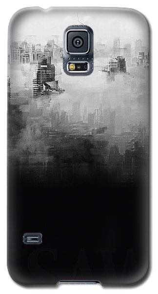 Galaxy S5 Case featuring the digital art High Society by ISAW Company