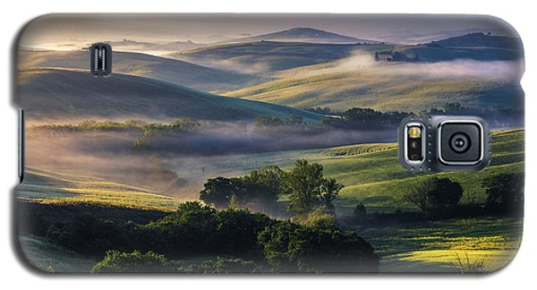 Hilly Tuscany Valley Galaxy S5 Case