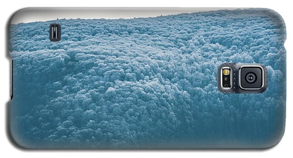 Hoarfrost Blue Mountain Galaxy S5 Case