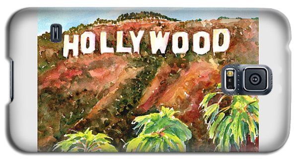 Hollywood Sign California Usa Galaxy S5 Case