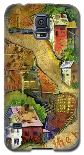 Home Is Where The Heart Is Galaxy S5 Case