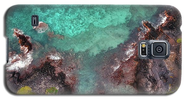 Honokohau Harbor Beach Aerial Galaxy S5 Case