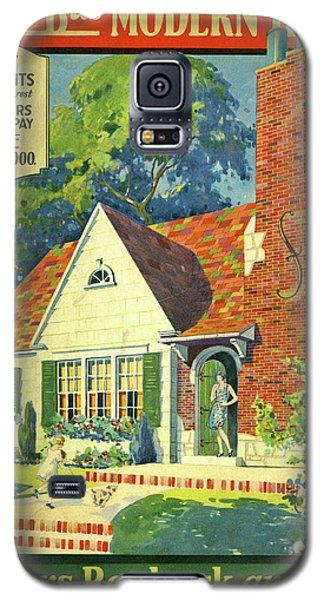Honor Bilt Modern Homes Sears Roebuck And Co 1930 Galaxy S5 Case