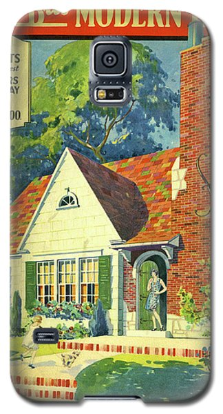 Honor Bilt Modern Homes Sears Roebuck And Co 1930 Galaxy S5 Case