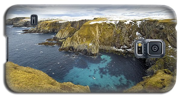 Cold Galaxy S5 Case - Horizontal Color Image Of Selchie Geo by Abo Photography