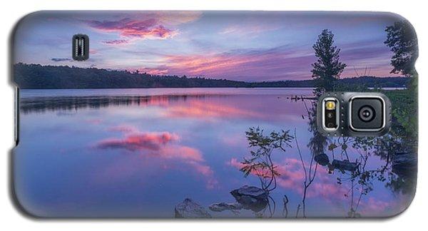 Horn Pond Sunset Galaxy S5 Case