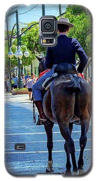 Horse Rider II Galaxy S5 Case