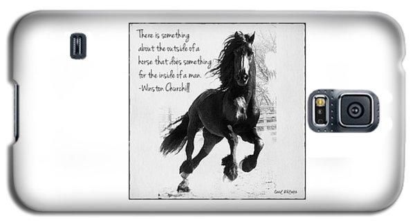 Horse's Profound Spirit  Galaxy S5 Case